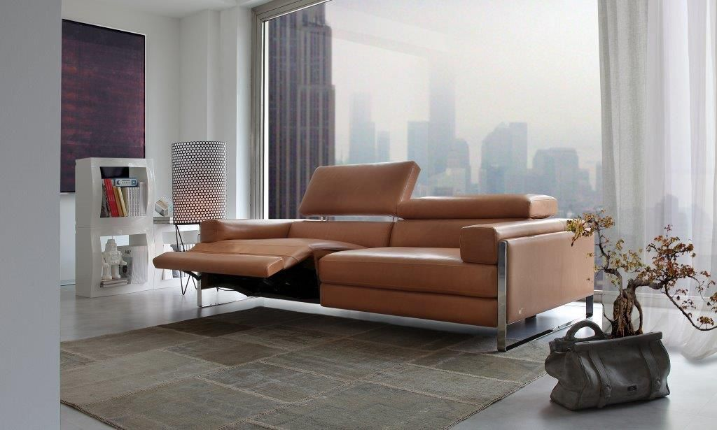 canape cuir relax