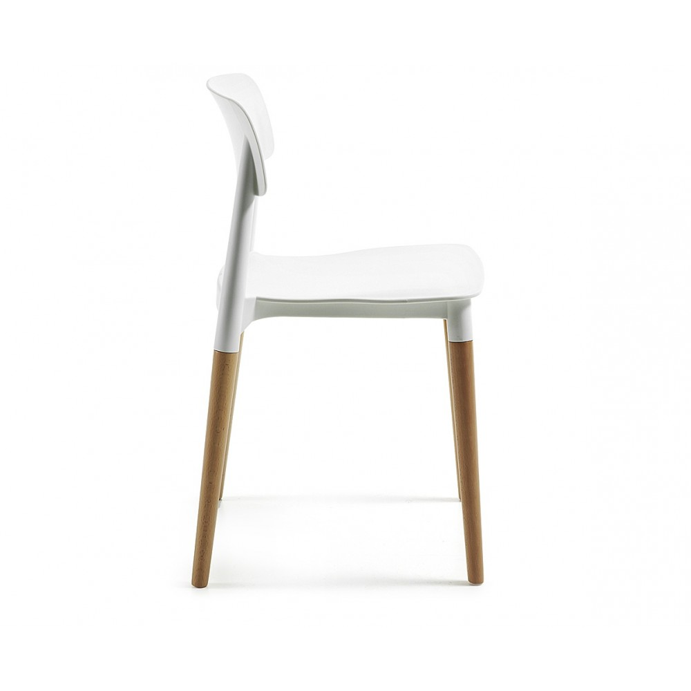 chaise blanches