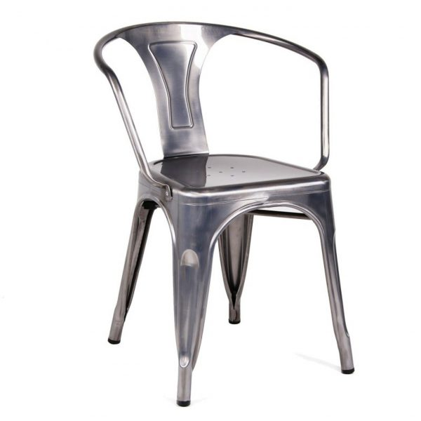 chaise metal pas cher