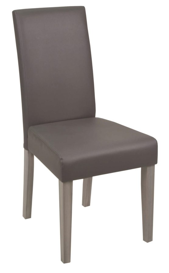 chaise salle a manger grise