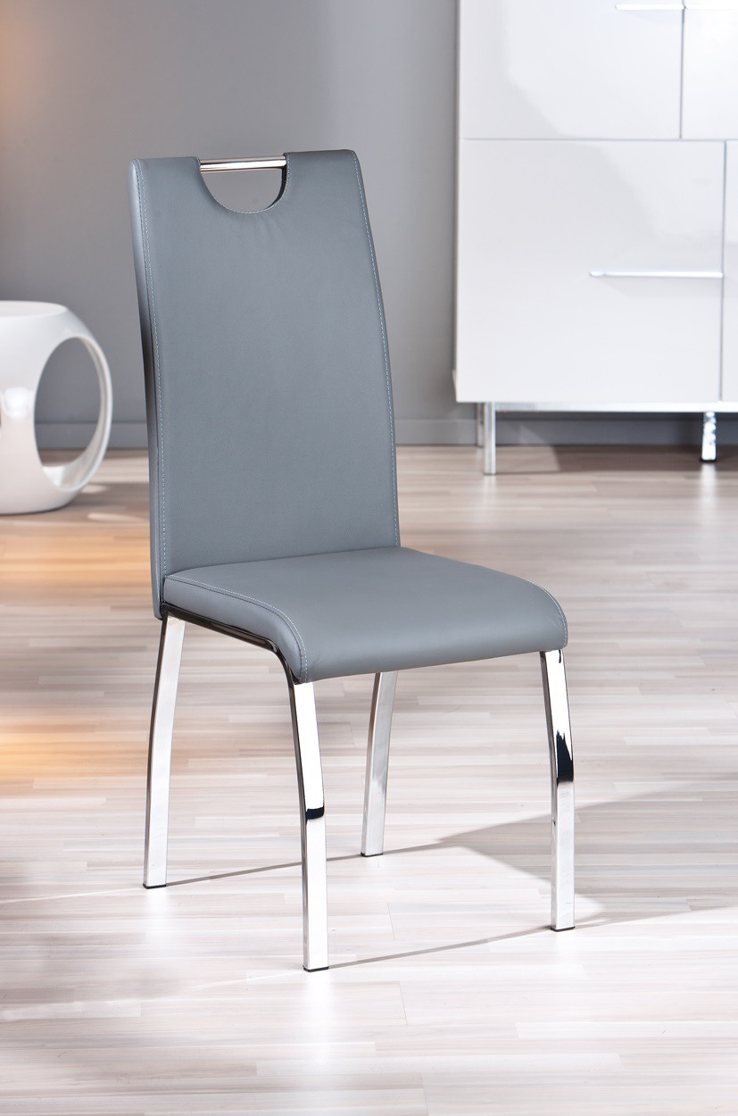 chaise salon grise