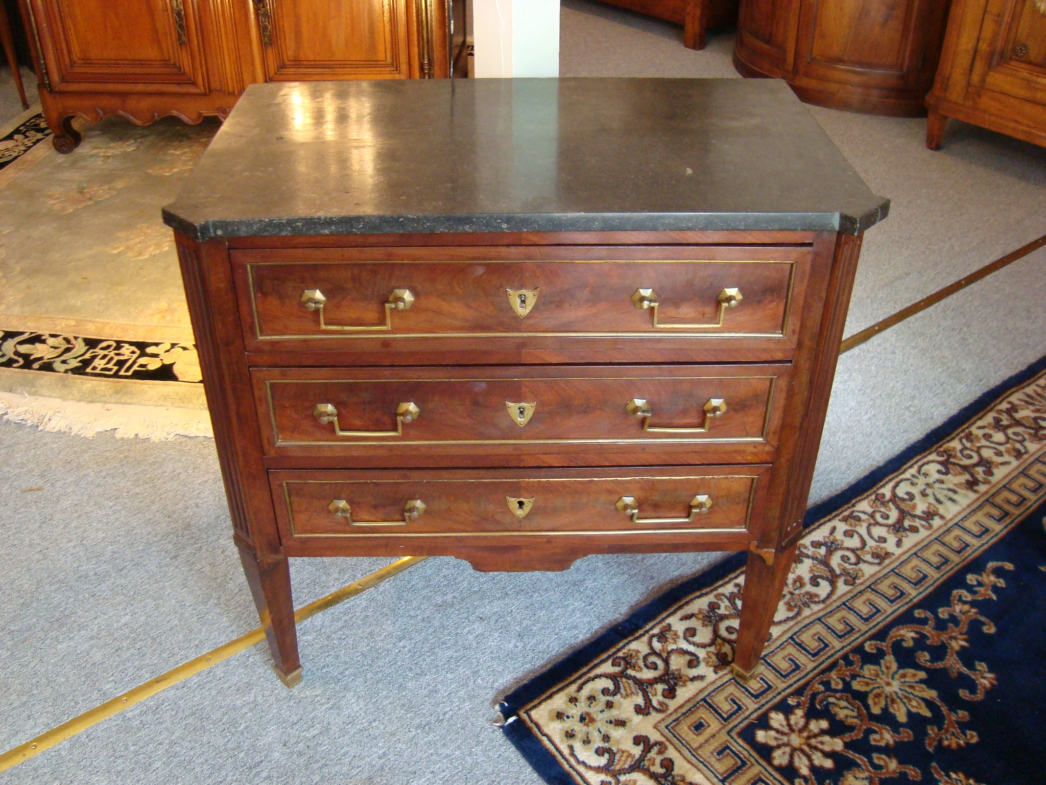 commode acajou
