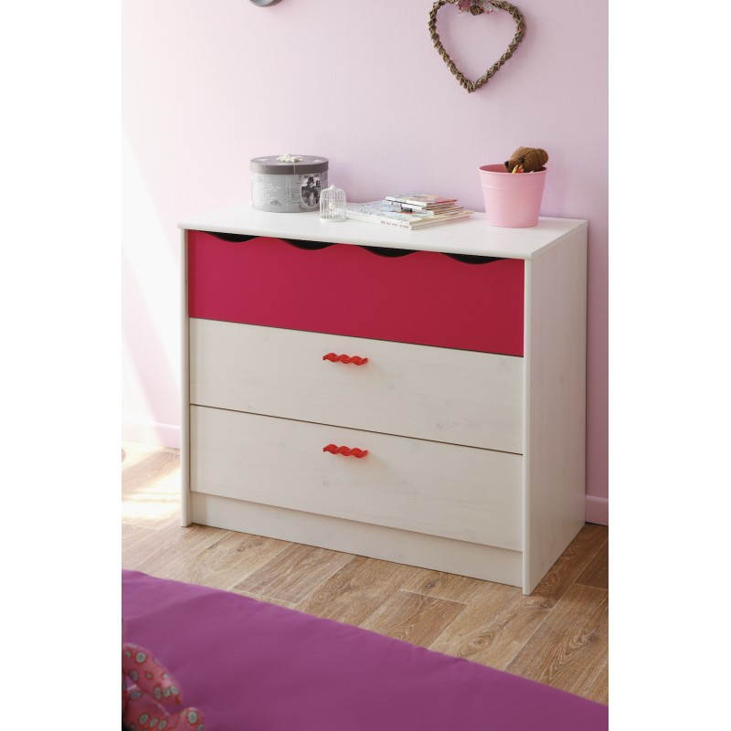 commode rose
