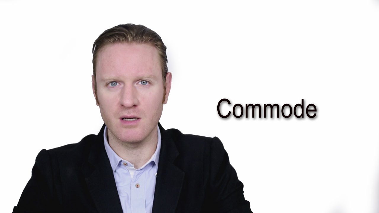 definition commode