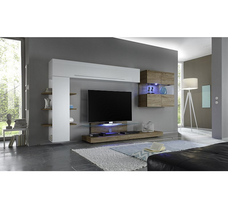 ensemble meuble tv led
