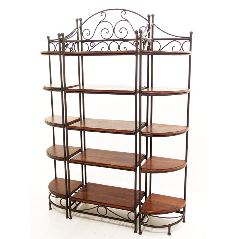 etagere fer forge id es de d coration int rieure. Black Bedroom Furniture Sets. Home Design Ideas