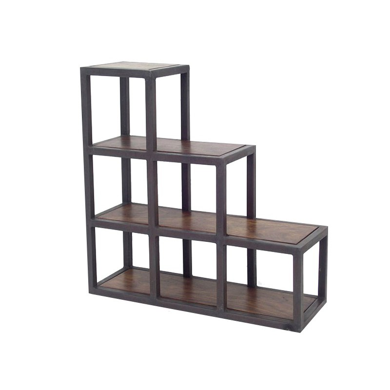 etagere en fer forge pour cuisine tagre pin about et mtal tablettes hiba la redoute interieurs. Black Bedroom Furniture Sets. Home Design Ideas