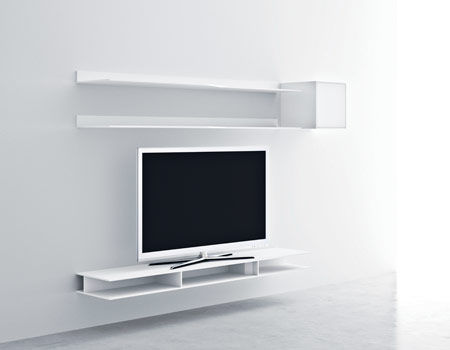 etagere murale tv id es de d coration int rieure french decor. Black Bedroom Furniture Sets. Home Design Ideas