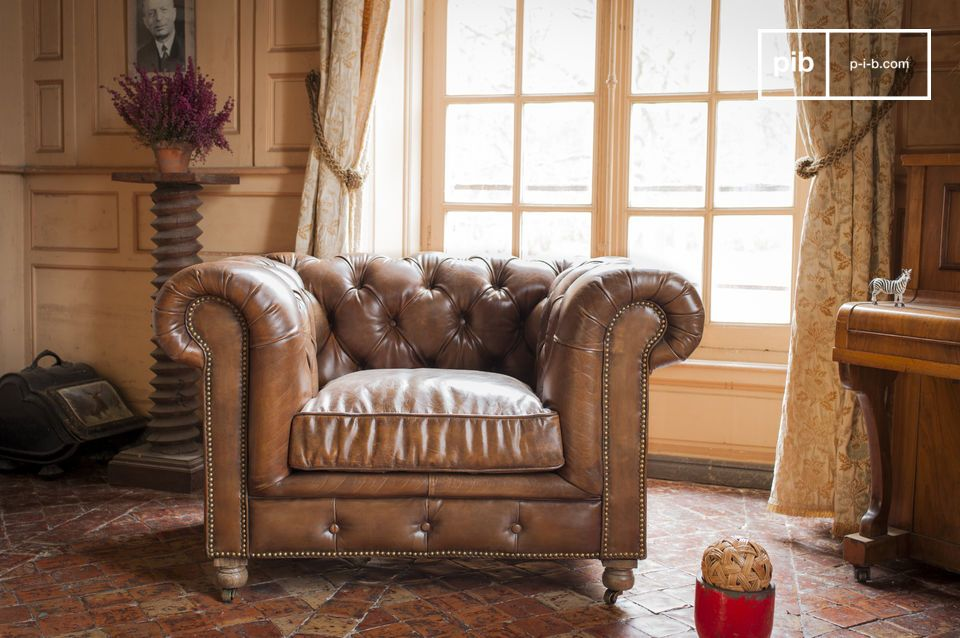 fauteuil chesterfield
