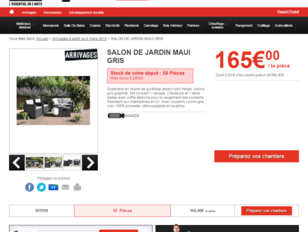 magasin salon de jardin
