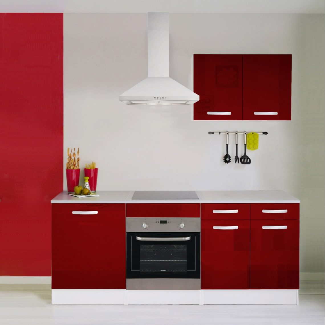 meuble de cuisine rouge 20 id es de d coration int rieure french decor. Black Bedroom Furniture Sets. Home Design Ideas