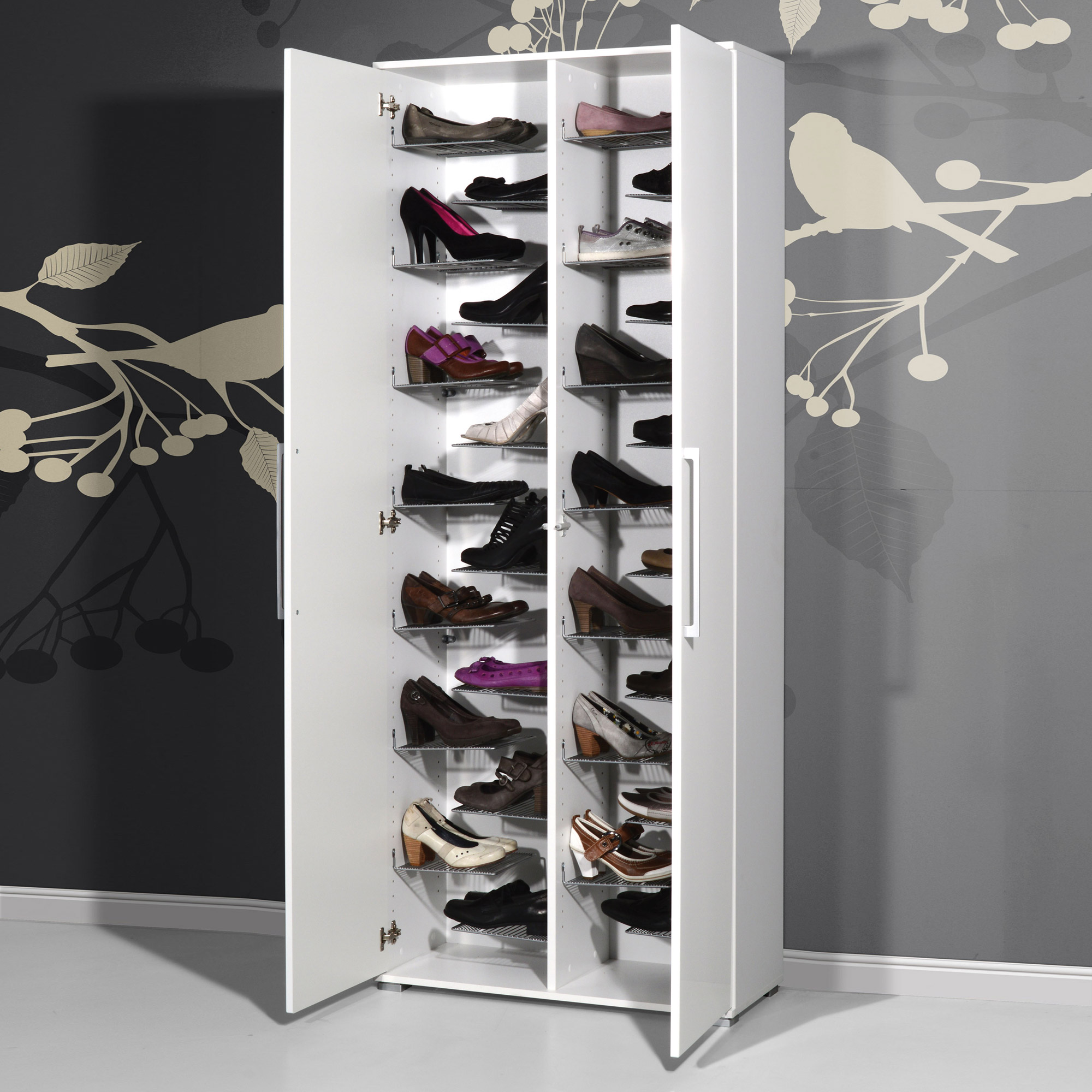 meuble rangement chaussures conforama
