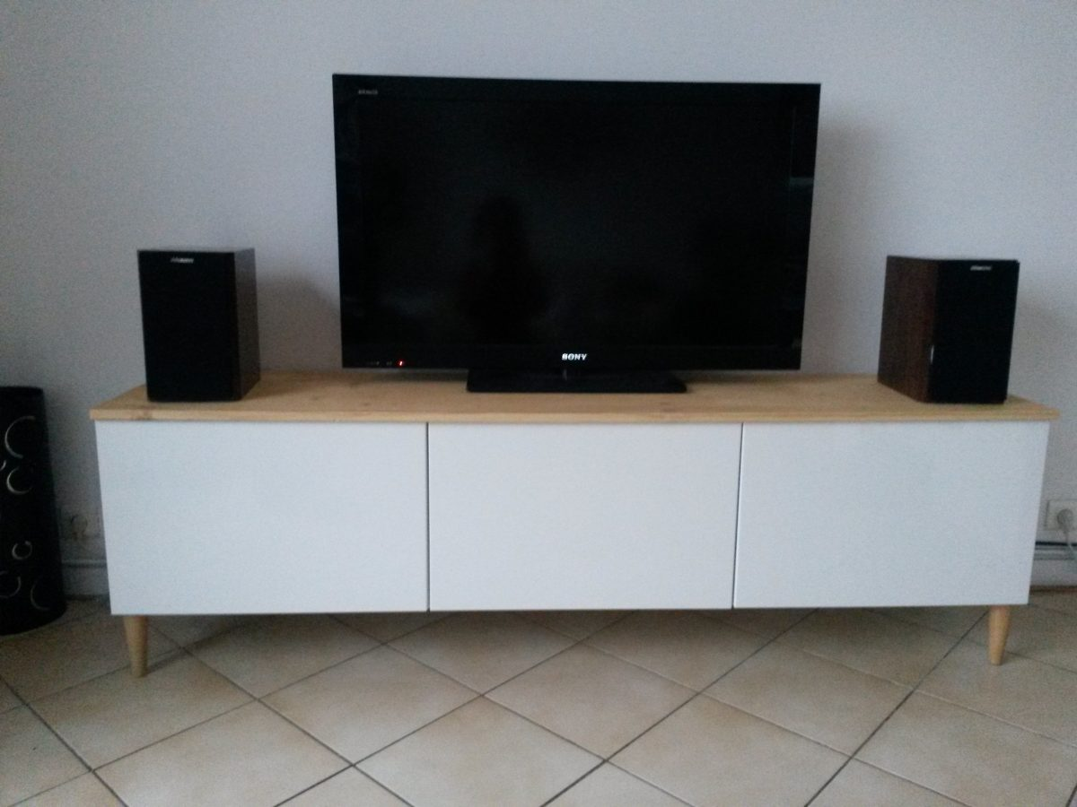 Meuble Tv Ikea Blanc Meuble Tv Ikea Blanc Collection Lappland  # Meuble Tv Ikea Kallax