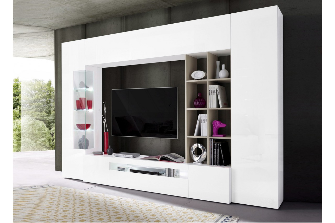 meuble tv rouge id es de d coration int rieure french decor. Black Bedroom Furniture Sets. Home Design Ideas