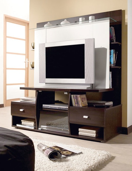 Meuble Tv Wenge  Ides De Dcoration Intrieure  French Decor