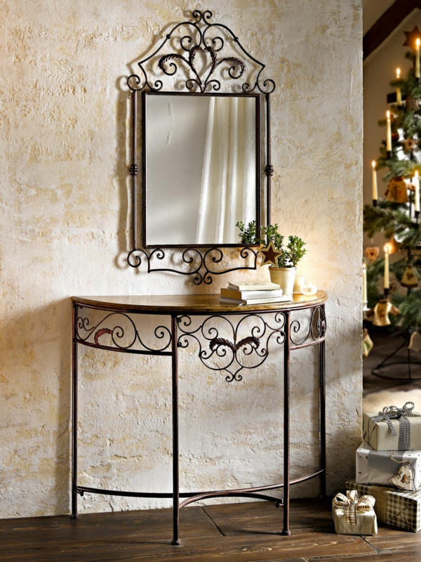 miroir fer forg noir id es de d coration int rieure french decor. Black Bedroom Furniture Sets. Home Design Ideas