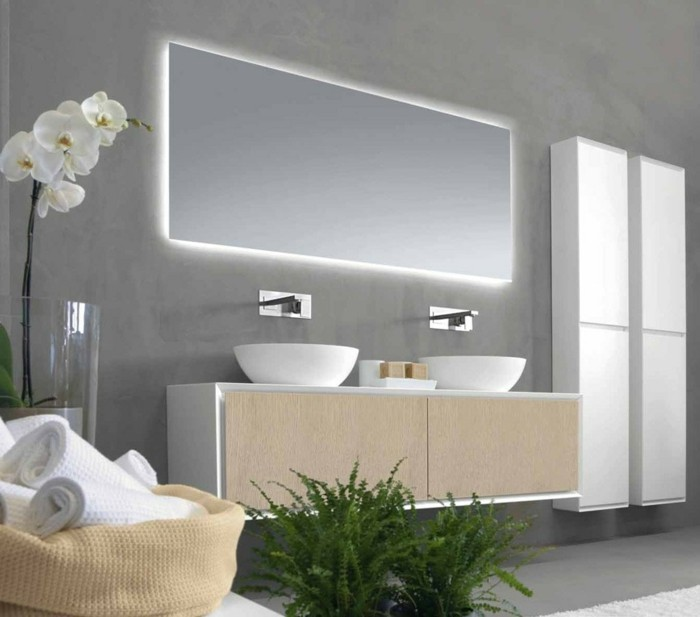 miroir salle de bain original great miroirs salle de bain ikea pour idee de salle de bain belle. Black Bedroom Furniture Sets. Home Design Ideas