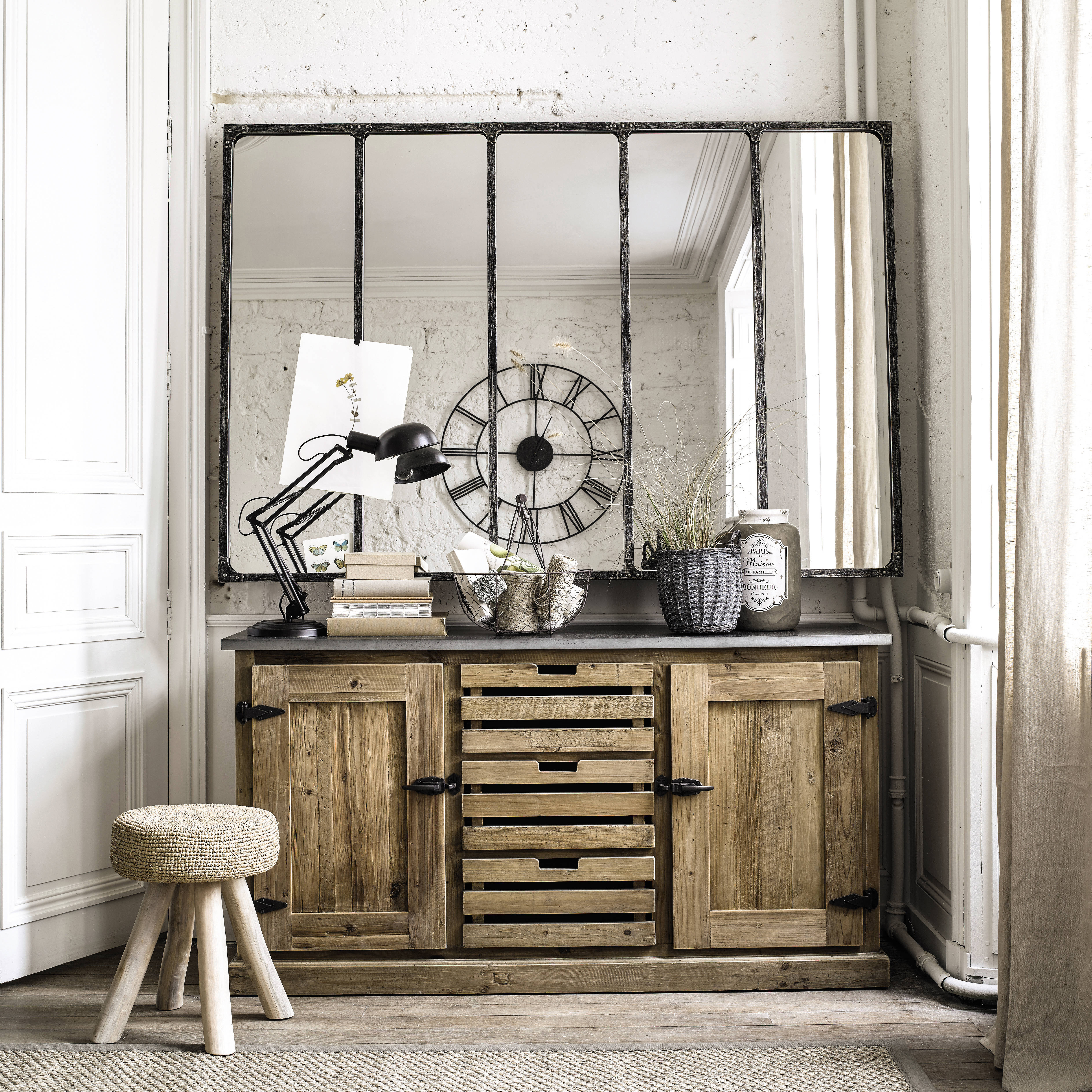 miroir verriere maison du monde id es de d coration. Black Bedroom Furniture Sets. Home Design Ideas