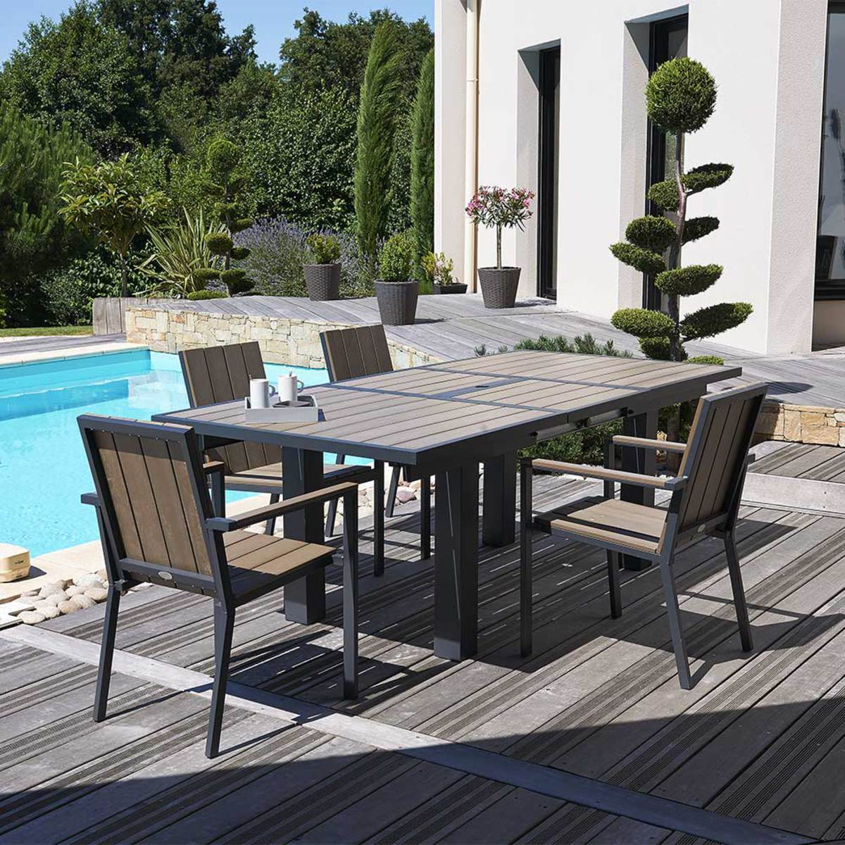 salon de jardin aluminium soldes 12 id es de d coration. Black Bedroom Furniture Sets. Home Design Ideas