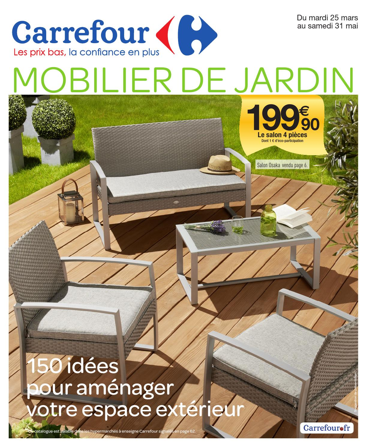 salon de jardin banc et table