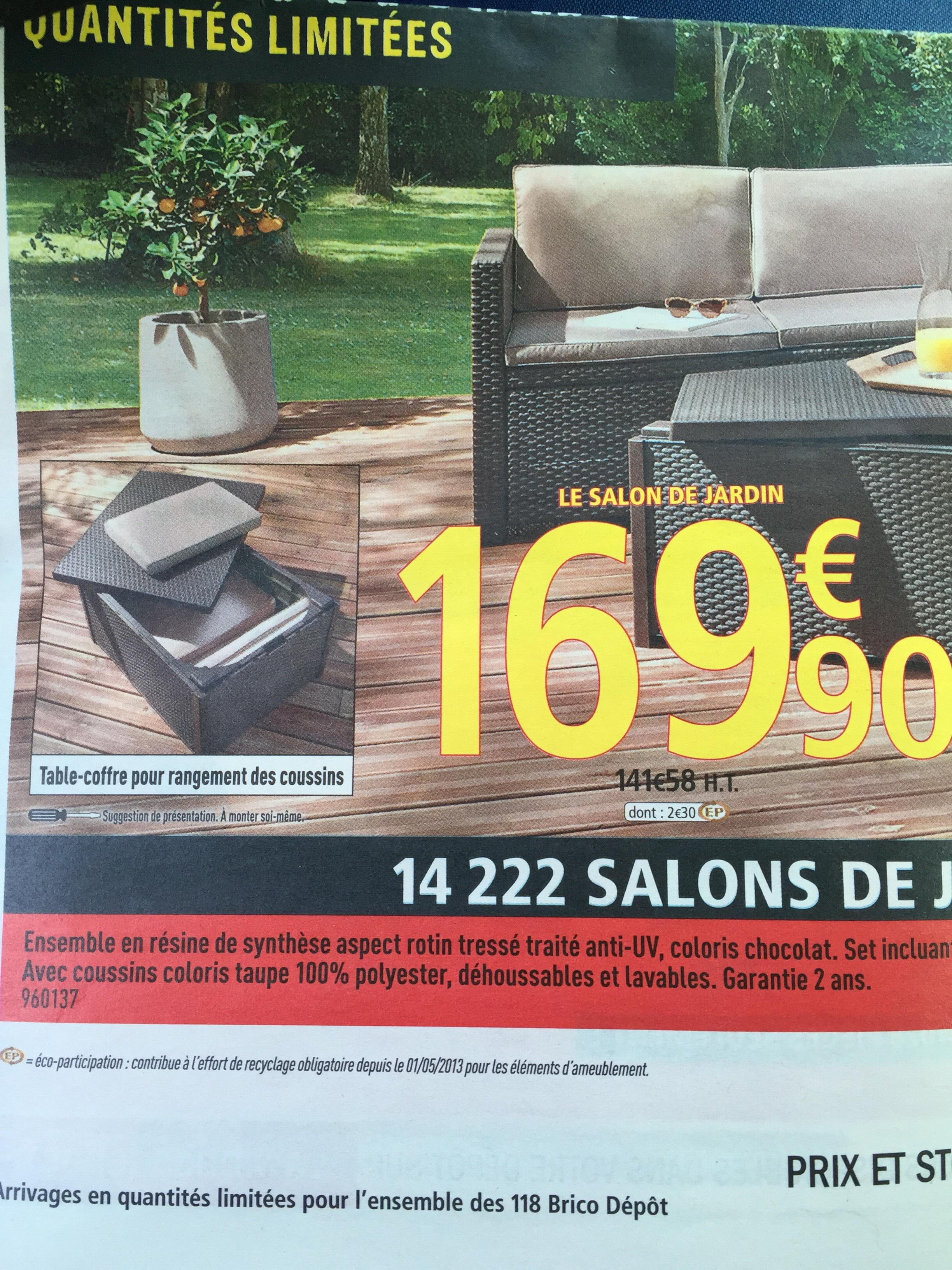 Best Salon De Jardin Allibert Lounge Set Prix Gallery - Amazing ...