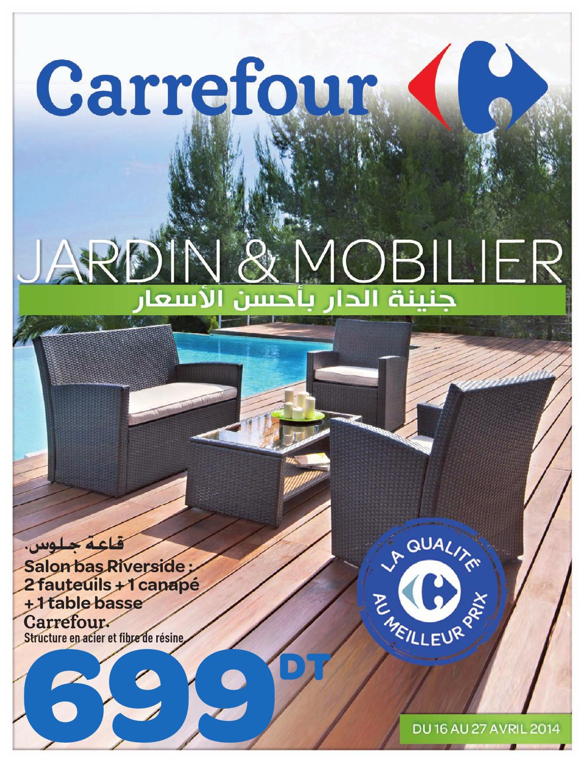 salon de jardin carrefour