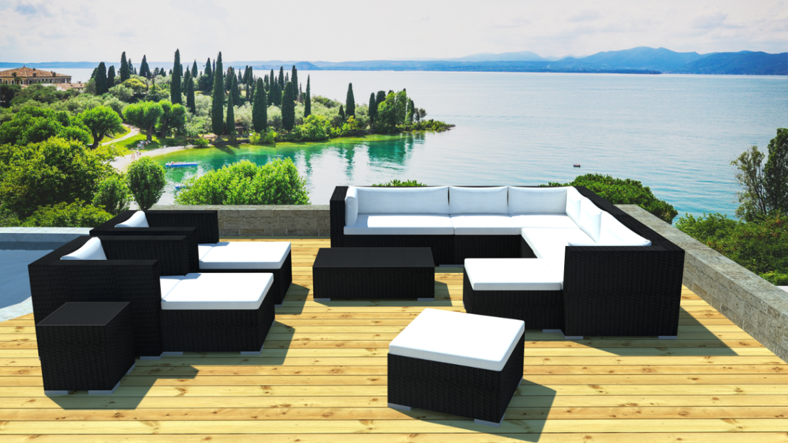 salon de jardin exterieur 17 id es de d coration. Black Bedroom Furniture Sets. Home Design Ideas