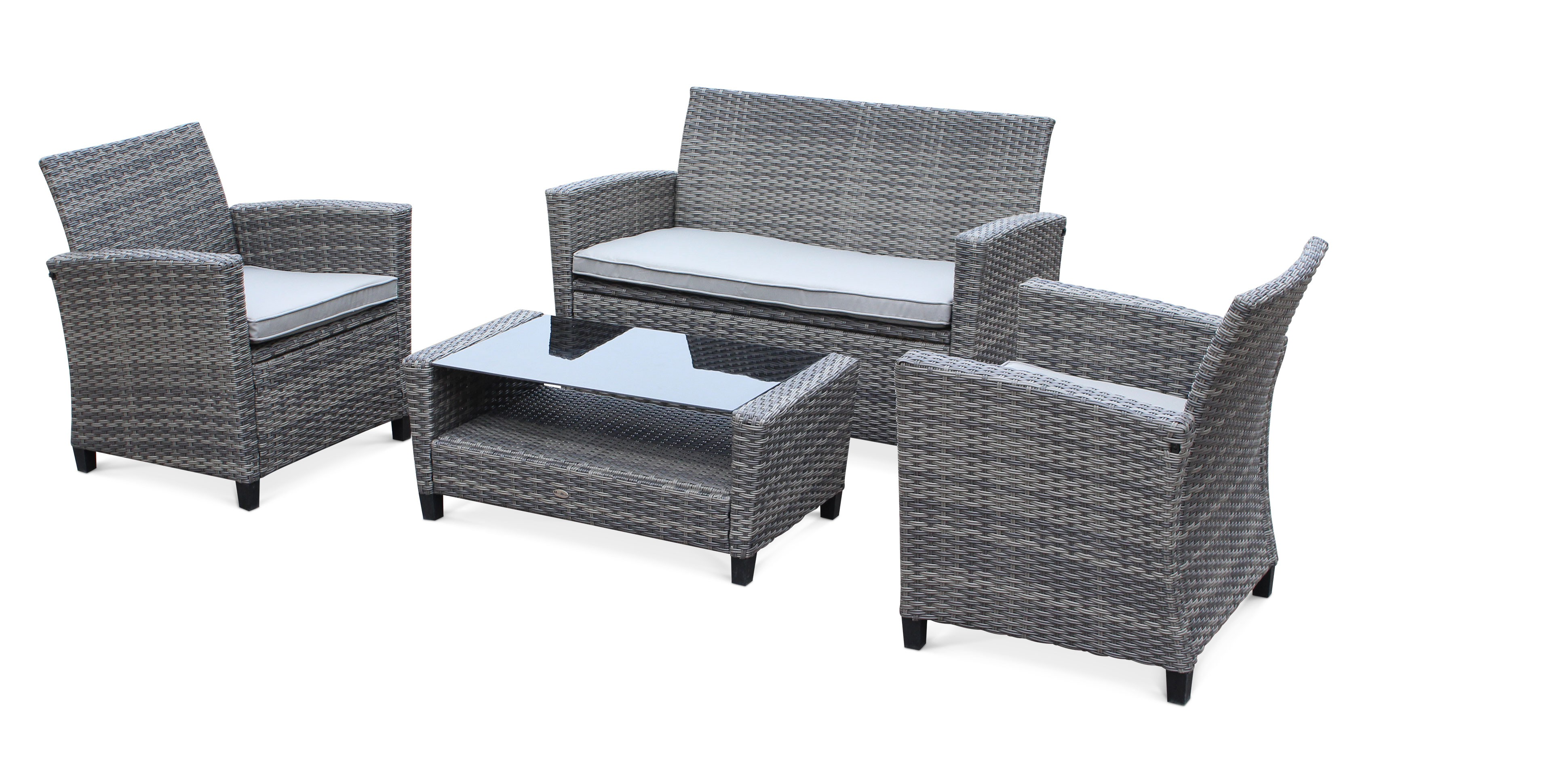 salon de jardin gris id es de d coration int rieure. Black Bedroom Furniture Sets. Home Design Ideas
