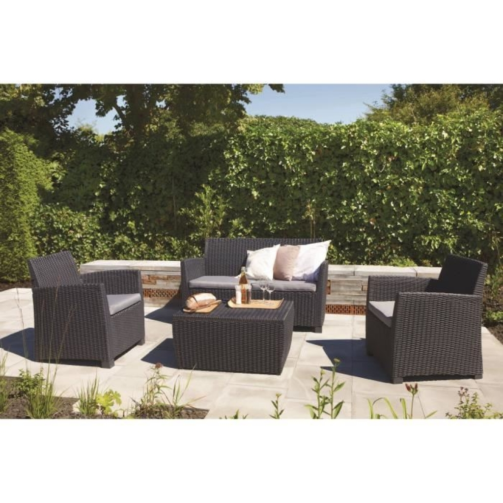 salon de jardin pas cher en plastique 19 id es de. Black Bedroom Furniture Sets. Home Design Ideas