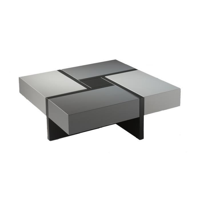 Table basse blanc laqu pas cher id es de d coration - Table basse originale pas cher ...