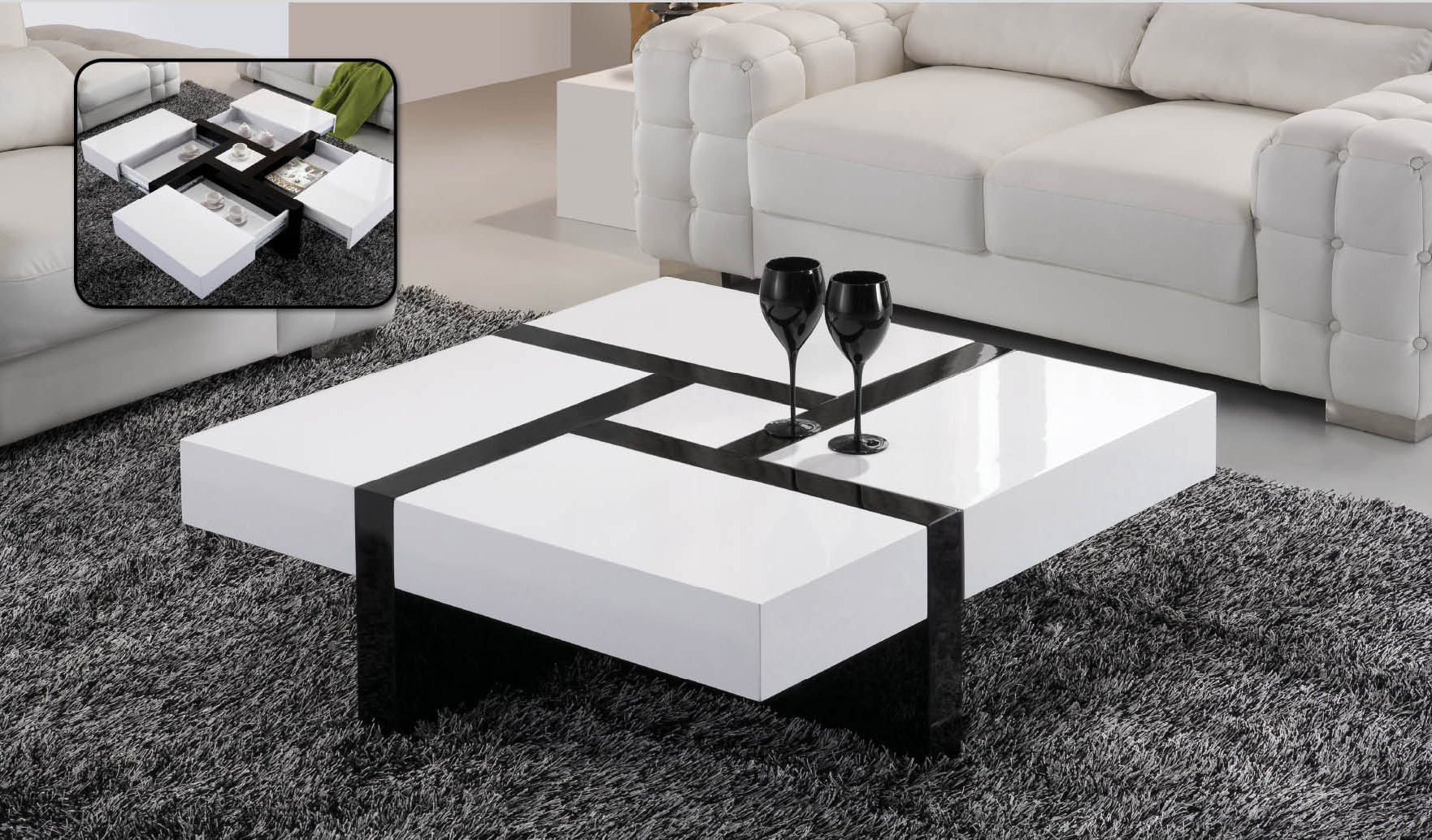 table basse de salon 7 id es de d coration int rieure. Black Bedroom Furniture Sets. Home Design Ideas