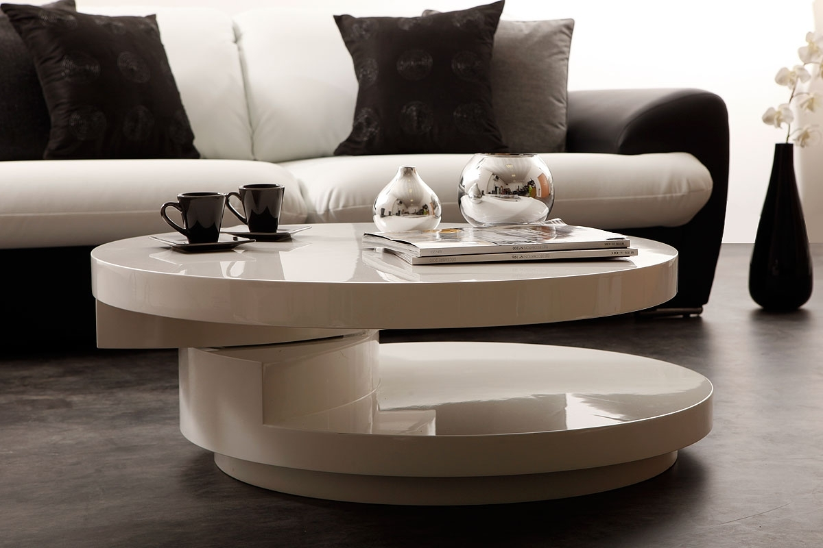 table basse design blanche