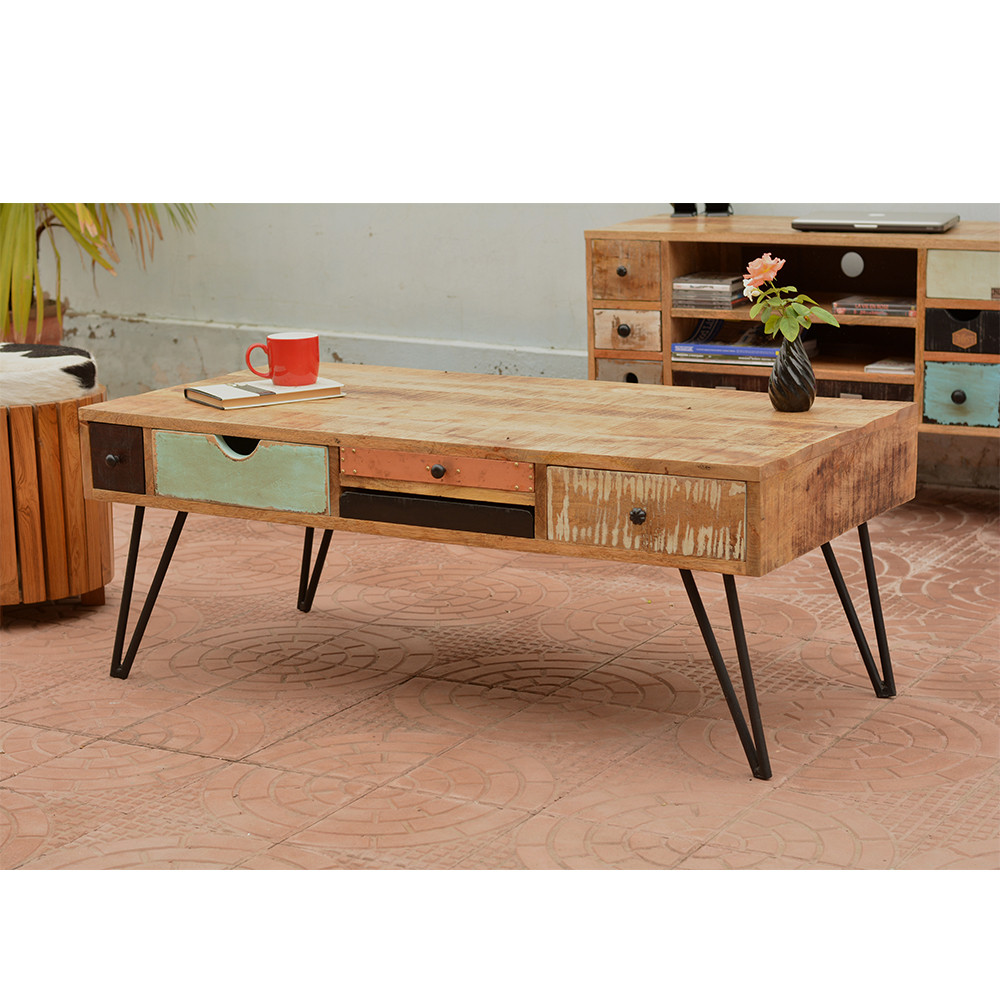 Table basse design bois id es de d coration int rieure for Table basse bois design