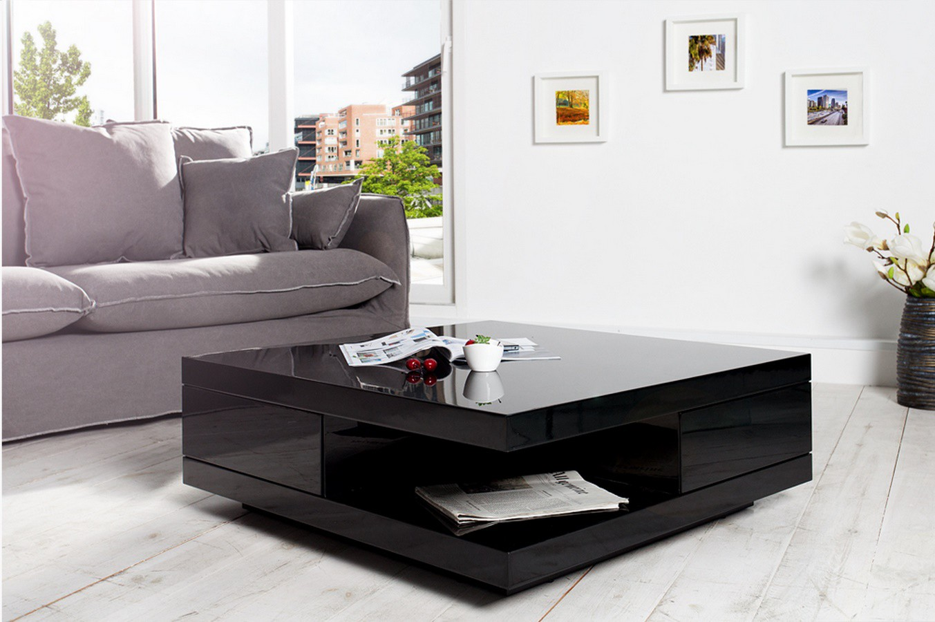 table basse noir