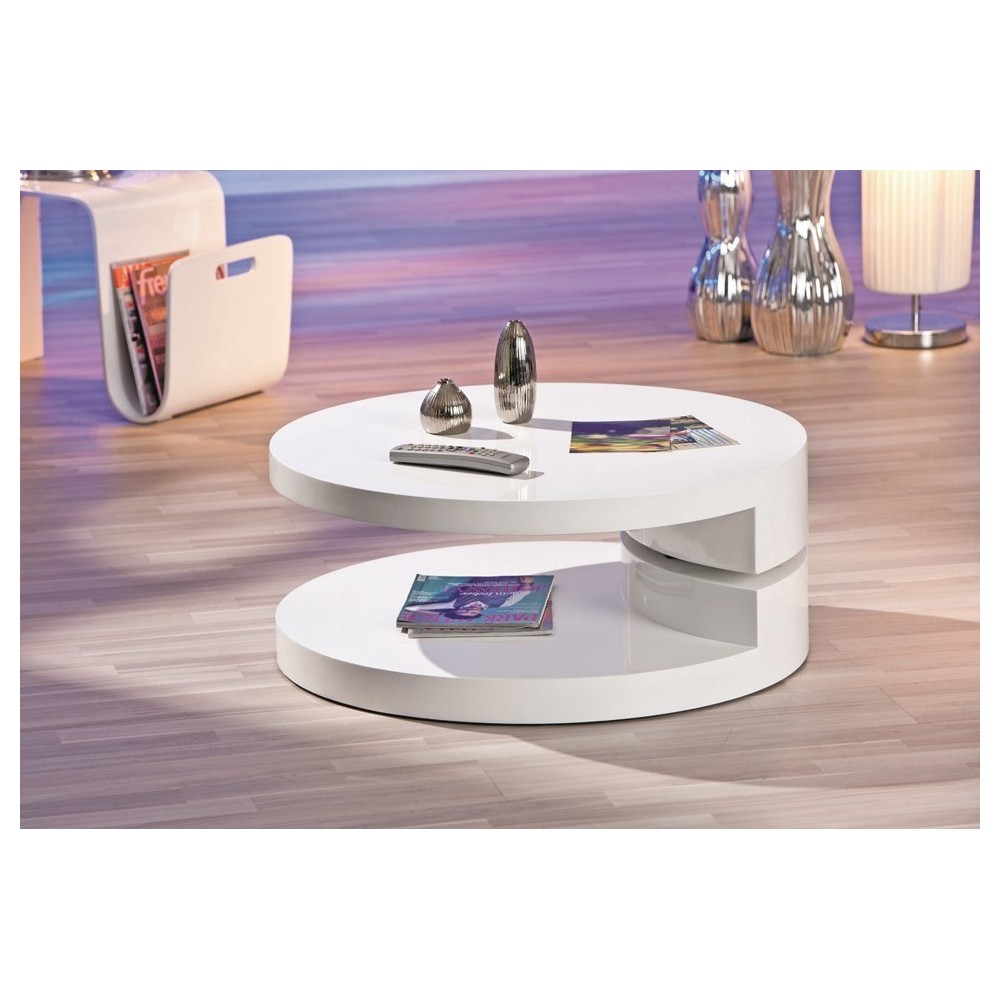 table basse pivotante