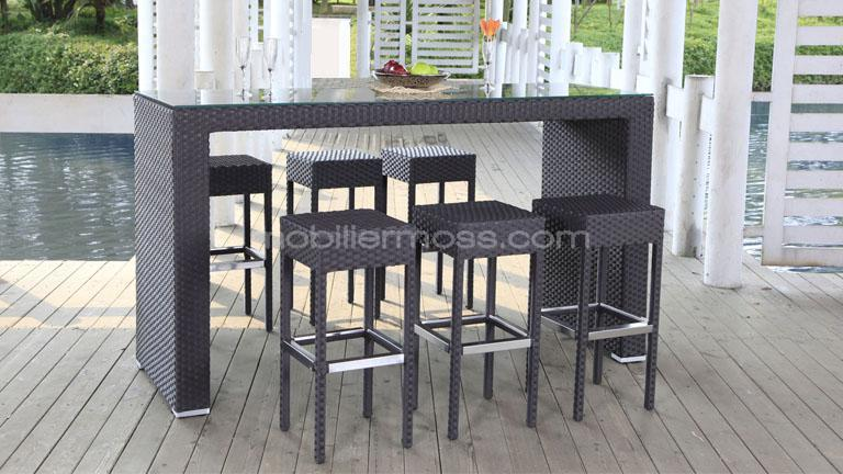 Emejing table haute de salon de jardin gallery amazing - Salon de jardin table haute ...