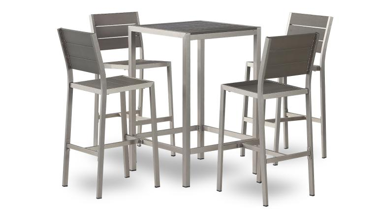 Table Bar Exterieur Trendy Ego Paris Table Haute Tabouret Bain De