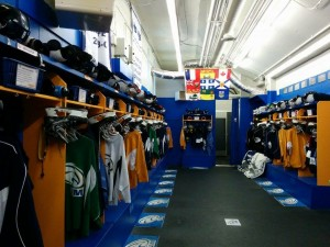 vestiaire de hockey