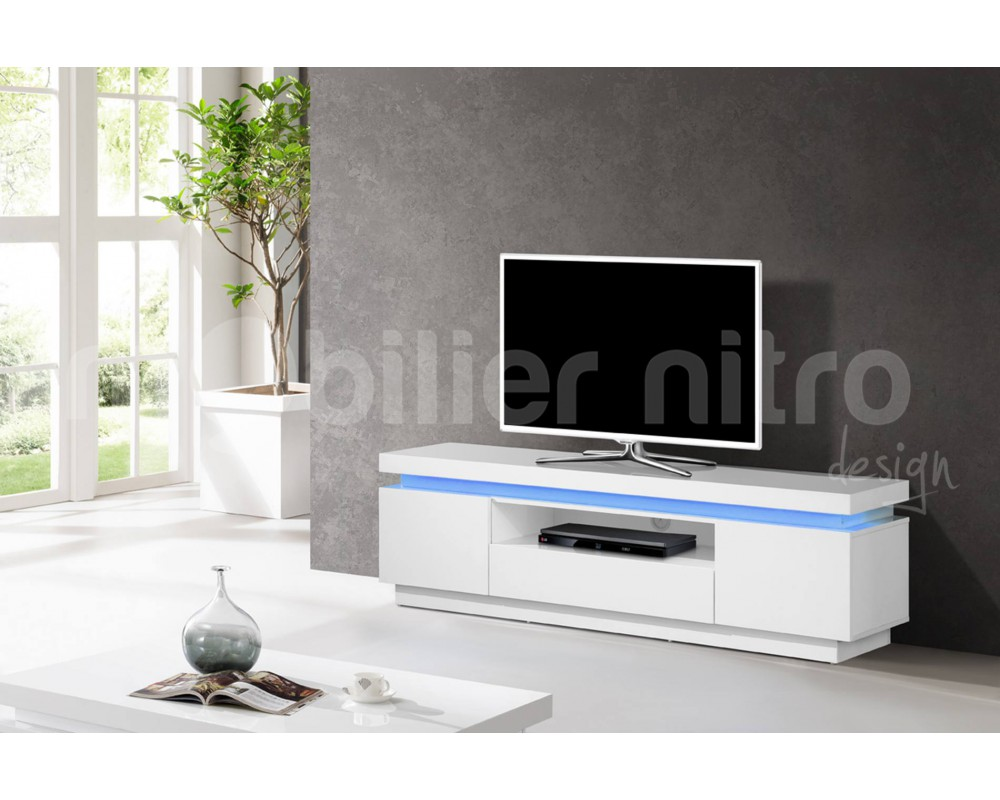 banc tv laqu blanc 17 id es de d coration int rieure. Black Bedroom Furniture Sets. Home Design Ideas