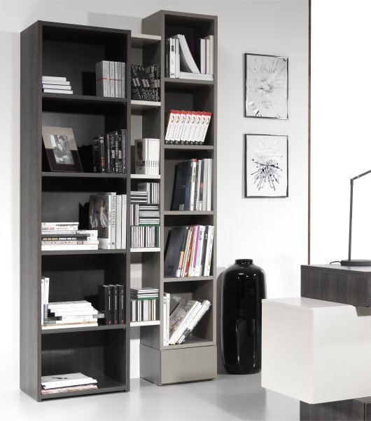 biblioth que design pas cher id es de d coration. Black Bedroom Furniture Sets. Home Design Ideas