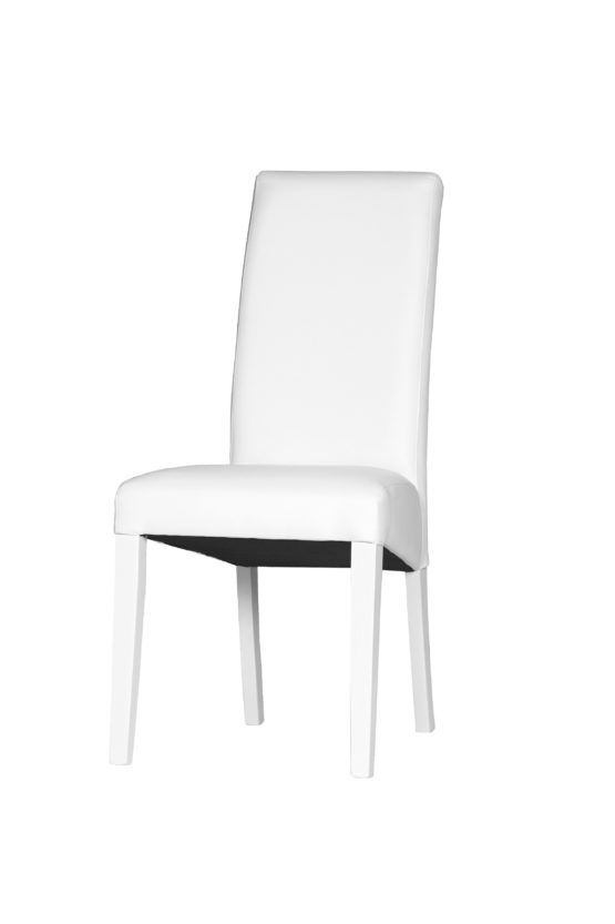chaise blanche pas cher
