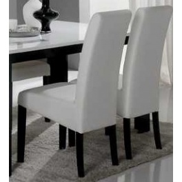 chaise salle a manger blanche - Chaise Sejour
