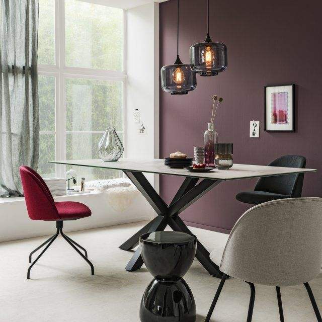 chaises salle manger fly affordable table de salle a. Black Bedroom Furniture Sets. Home Design Ideas