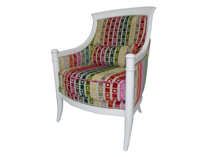Chaise tissu color id es de d coration int rieure for Chaise en tissu colore
