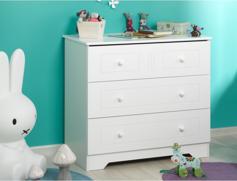 commode blanche