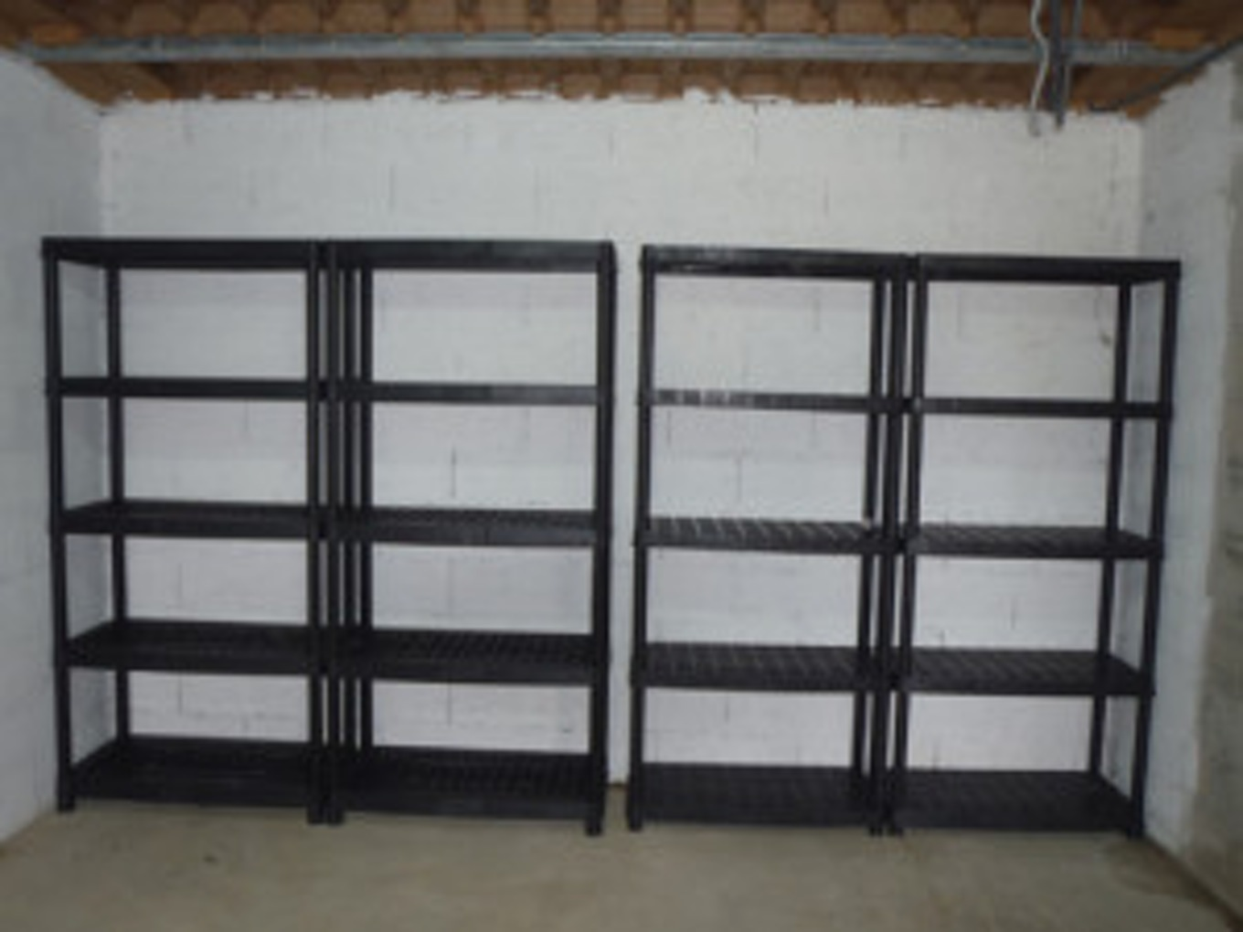 etagere metallique garage pas cher maison design. Black Bedroom Furniture Sets. Home Design Ideas
