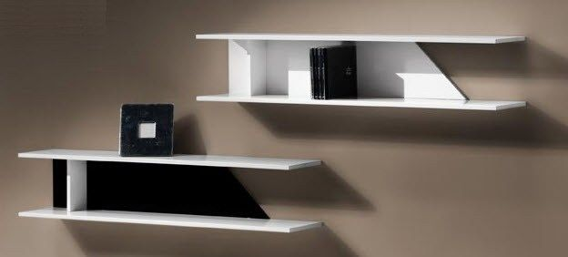 etagere murale blanc laqu id es de d coration int rieure french decor. Black Bedroom Furniture Sets. Home Design Ideas