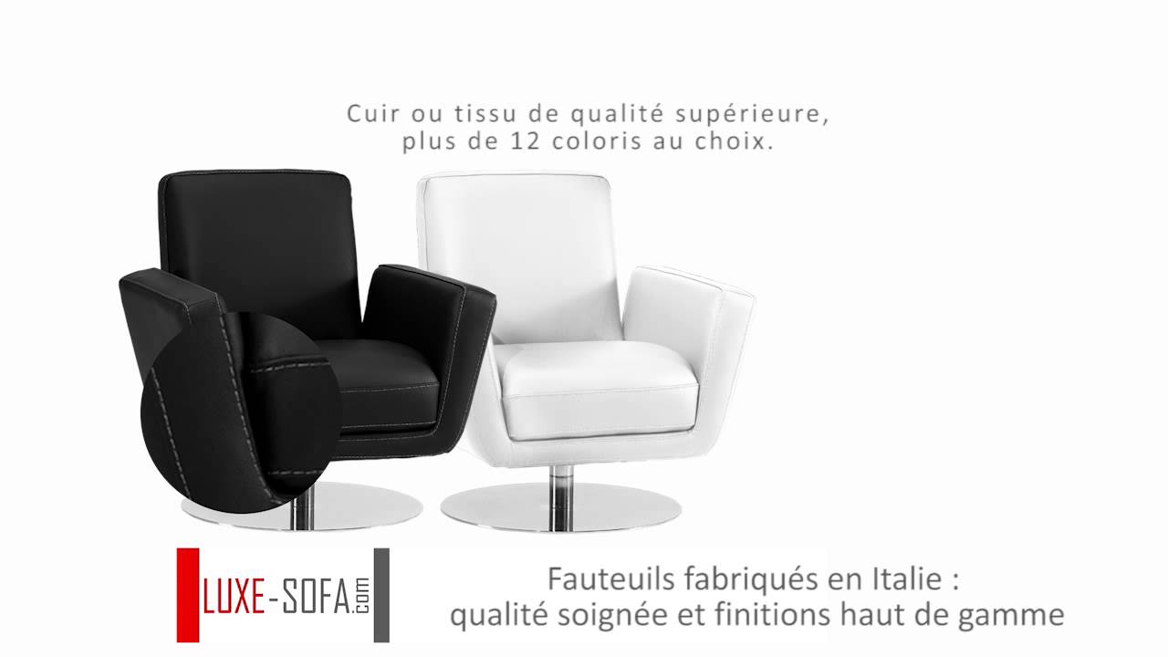 fauteuil cuir 1 place