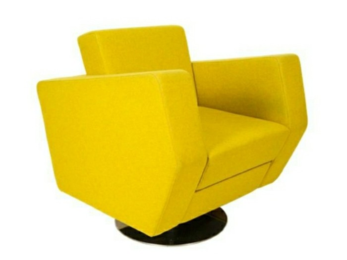 fauteuil design jaune 10 id es de d coration int rieure french decor. Black Bedroom Furniture Sets. Home Design Ideas