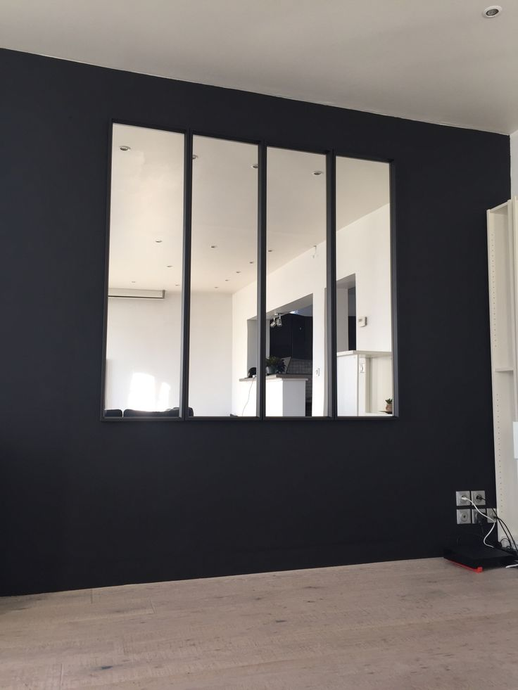 Grand miroir noir 12 id es de d coration int rieure for Grand miroir noir